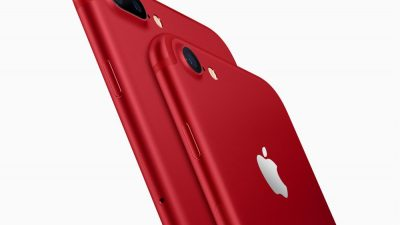 iPhone 7 & iPhone 7 Plus (PRODUCT)RED Special Edition
