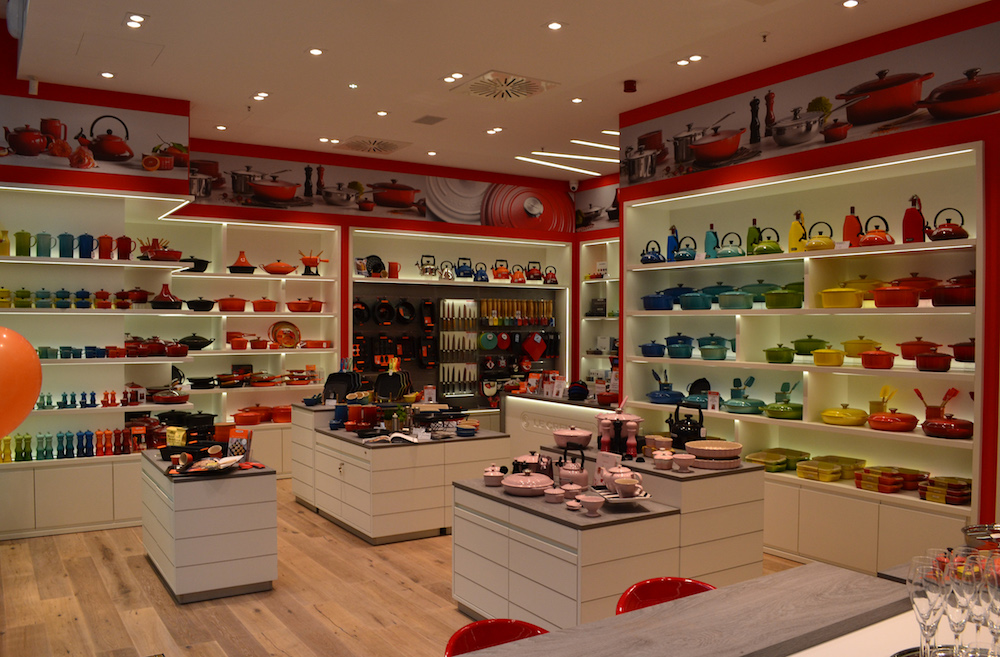 Neuer Le Creuset Flagship-Store in Berlin