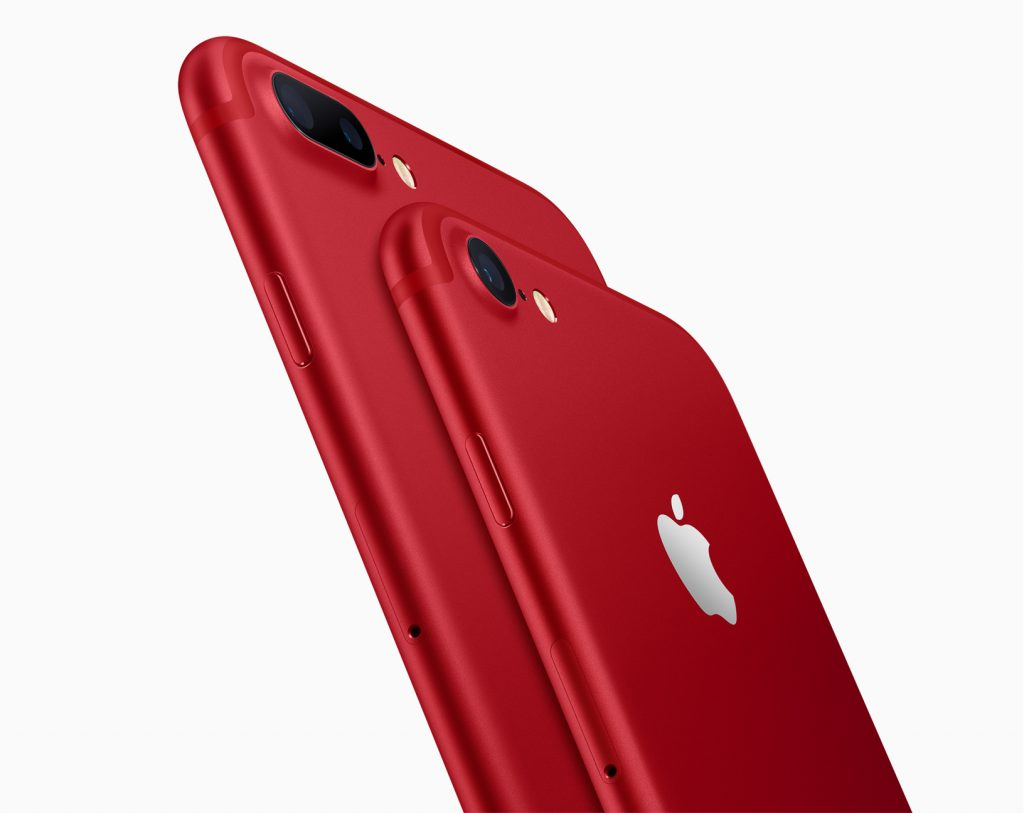 Apple iPhone 7 & 7Plus RED Special Edition