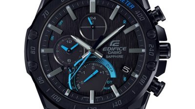 Starke Chronographen im All Black-Look